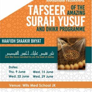 Ramadhan Programme